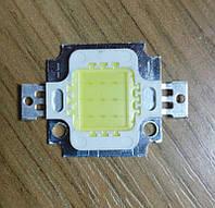 10Вт светодиод белый 6000К, 12В, 500мА супер эконом