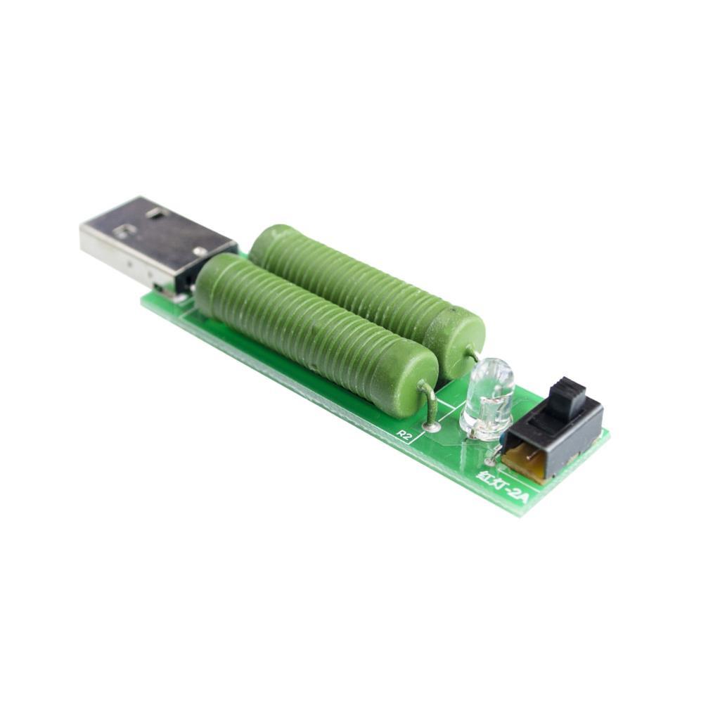 USB разрядка нагрузка 1А-2А