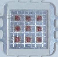 10Вт светодиод красный 620нм, 300лм, 38mil, 7В, 900мА, HQ, фото 1