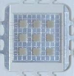 10Вт светодиод 20x20мм синий 450нм 900мА 10В HQ, фото 4