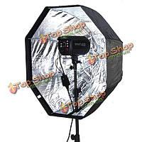 Студия 80 см/дисплей 32inch восьмиугольник зонтик свет вспышки софтбокс отражатель