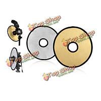 Фотография 12 дюймов диск студийный свет полый отражатель