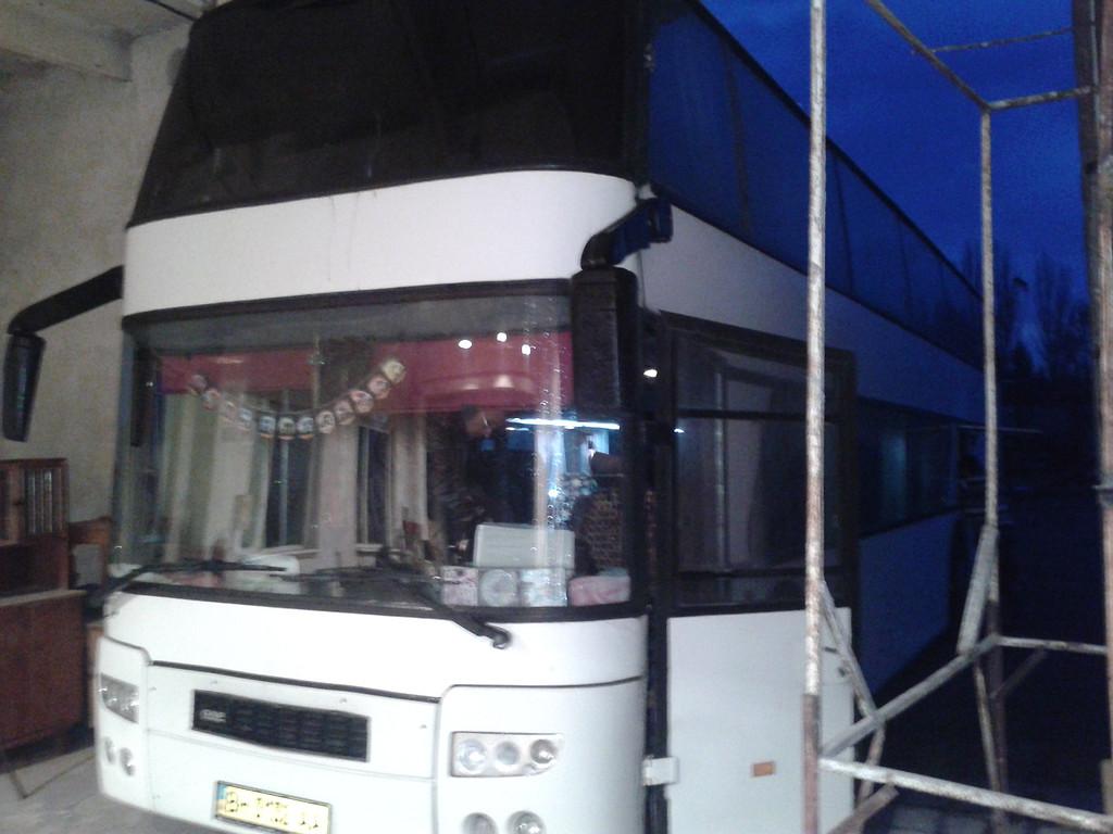 Замена лобового стекла DAF SBR 3000