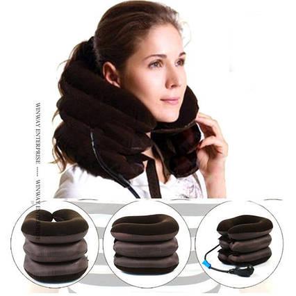 Надувной ортопедический воротник для шеи.., фото 2