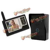 SYSD sy359mj11 беспроводной 3.5-дюймов TFT LCD  цветной видео домофон
