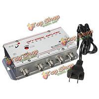 4 путь catv кабельное телевидение усилитель сигнала усилитель видеосигнала усилитель-разветвитель