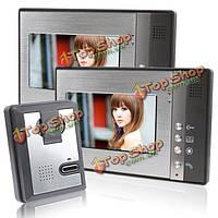 Эннио sy802ma12 7inch видео домофон домой домофон дверь