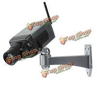 Вращение беспроводного видеонаблюдения купольные IP-поддельные камеры безопасности