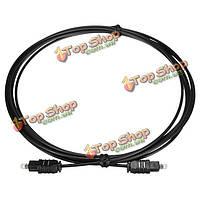 3м 10 футов цифровых волоконно-оптических toslink мужской аудио кабель шнур ОД 2.2мм