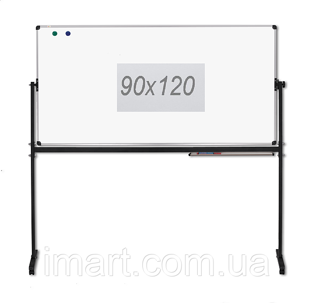 Доска оборотно-мобильная для маркера 120x90 см ABC Office