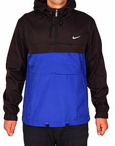 Анорак Nike ( Black - Blue )