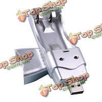 USB зарядное устройство для Ni-MH АА/ААА 2а 3А аккумуляторная батарея постоянного тока 5В