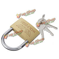 40мм безопасности семьи латунный ключ замка двери для дома