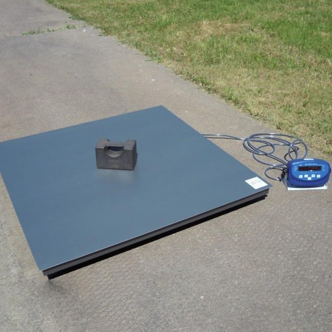 Весы платформенные до 1500 кг 4BDU1500-1215-Б