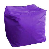 Пуф Куб оксфорд фиолетовый 40*40*40