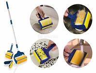 Набор щеток валиков Sticky Buddy Pro 3 (Стики Бадди Про 3) со шваброй для чистки ковра