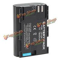 Can.lp-е6 Аккумуляторная 1800мАh 7.4V литий-ионный аккумулятор защищен для канона
