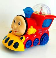 Паровозик Томас с волшебным шаром (ездит,музыка,свет,звуки)