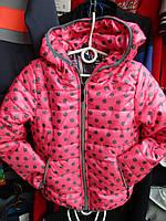 Детская куртка  на девочку осень/весна ( р. от 8 до 12 лет ) № 69-6