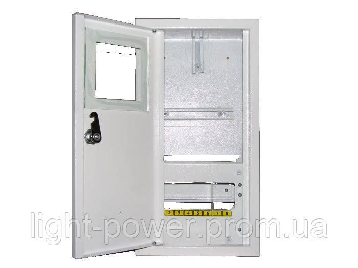 ШМР-1Ф-8Н Шкаф монтажный накладной под 1-но фазный счётчик - Light-Power в Днепре