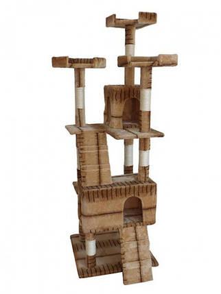 Когтеточка, домики, дряпка для кошек D-08 180 см, фото 2