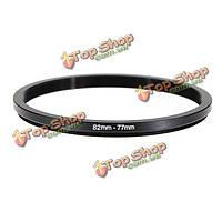 82-77мм 82-77 от 82 до 77 шаг металла вниз линзы кольцо фильтра адаптер черный