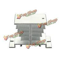 Алюминиевый сплав радиатора для твердотельных реле SSR тепловыделение