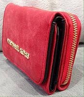 Кошелек Michael Kors красный брендовый реплика копия майкл корс, фото 1