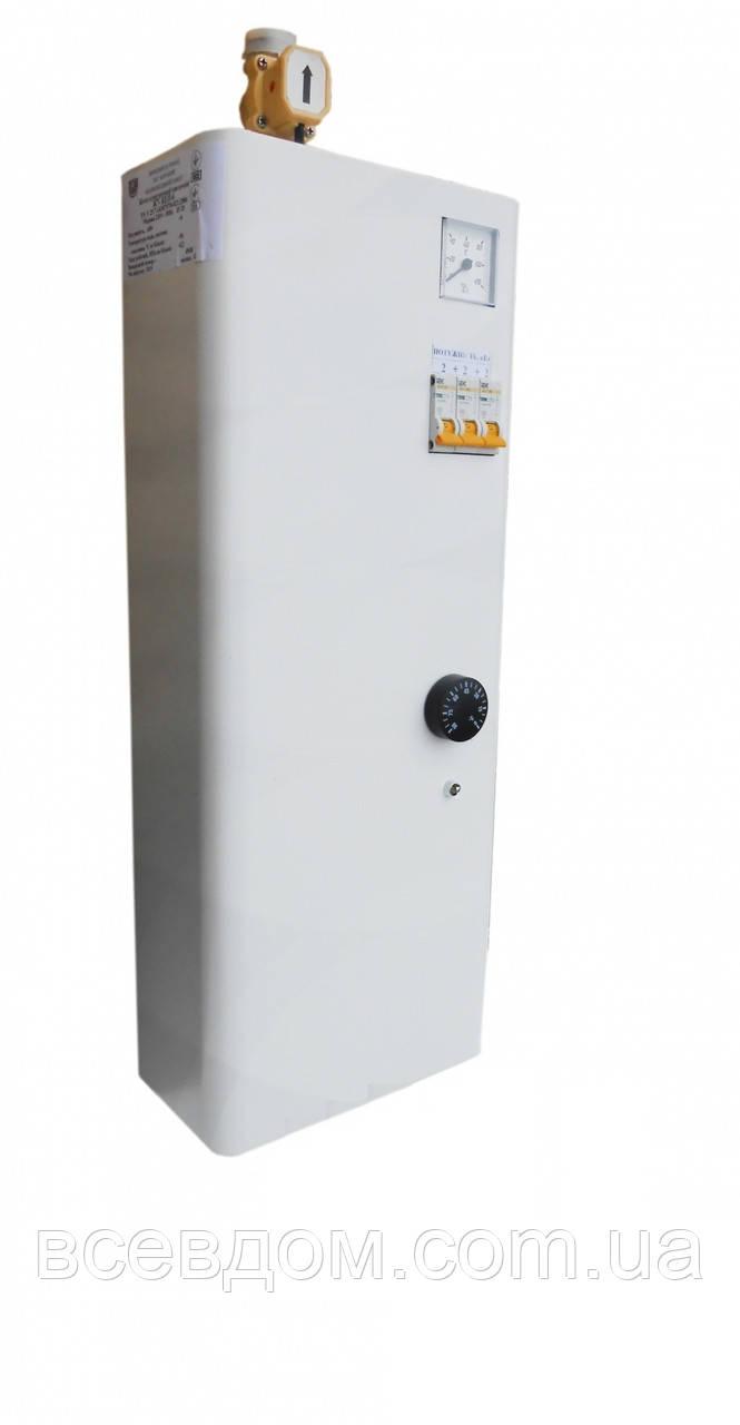 Настенный электрический котел КЕП Бар 4'5/220 без насоса