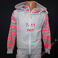 Детский спортивный костюм на девочек 11 лет Cтразы, фото 1