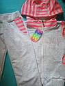 Детский спортивный костюм на девочек 11 лет Cтразы, фото 2