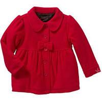 Красивое флисовое пальто на девочку 4- 5 лет