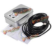 4 LED USB в 7м доме водонепроницаемая инспекция змея камеры пробки