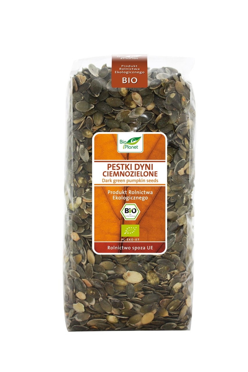 Bio Planet насіння гарбуза темнозелене 1 кг
