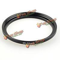 49мм-52мм металл шаг до кольцо адаптер фильтра объектива шагая, фото 1