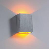 Декоративное LED, накладного монтаж 60*80*30sp mm. LED 1W. CRI-80. 100 Lm. Блок питания включен.