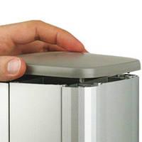 Заглушка цвет серый металлик для колонн