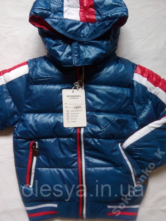 Демисезонная куртка на мальчика 4 лет
