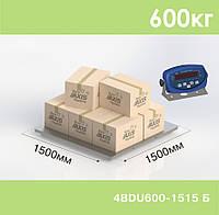 Платформенные весы до 600 кг 4BDU600-1515-Б
