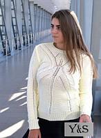 Вязаный женский свитер, расцветок много