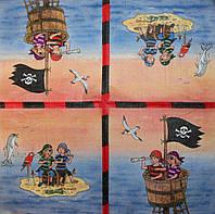 Редкая салфетка декупажная Маленький пират 6079