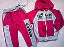 Спортивный костюм Adidas на девочек размер 98, фото 2