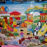 Детский конструктор зоопарк 5095