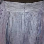 Костюм лен женский  голубой кос 002-3, юбка в пол и жакет лен ., фото 10