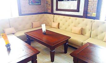 """Кожаные диваны для ресторана """"Whisky corner"""" улица Софиевська, 16/16 11"""