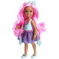 """Кукла Барби Челси """"Роскошные волосы"""" / Barbie Endless Hair Kingdom Chelsea Doll, Blue by Barbie"""