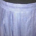 Костюм лен женский  голубой кос 002-3, юбка в пол и жакет лен ., фото 9