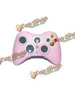 Розовая силиконовая кожа случае покрытия для Xbox 360 контроллер