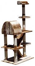Когтеточка, домики, дряпка для кошек DS-016 160см, фото 2