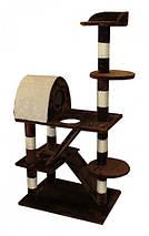 Когтеточка, домики, дряпка для кошек DS-016 160см, фото 3
